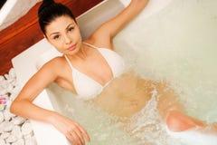 Luxusbad Stockfoto