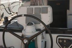 Luxusbootsinnenraum Lizenzfreies Stockfoto