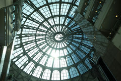 Luxuseinkaufszentrum in Shanghai Stockbild