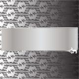 Luxuseinladungskarte Stockbild