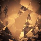 Luxusfarbkristallhintergrund Stockfoto