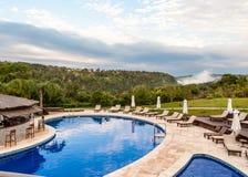 Luxusferien im Dschungel nahe den Iguaçu-Wasserfälle Lizenzfreie Stockfotografie