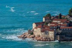 Luxushäuser auf der Küste Lizenzfreie Stockfotografie