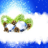 Luxushintergrund Weihnachten Lizenzfreie Stockfotos