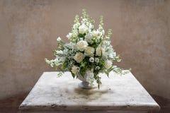 Luxushochzeitsblumenstrauß Stockfoto