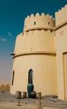 Luxushotel in Abu Dhabi Desert Stockbilder