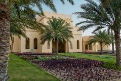 Luxushotel in Abu Dhabi Desert Lizenzfreies Stockbild
