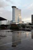 Luxushotel auf Fluss, Bangkok lizenzfreies stockfoto