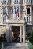 Luxushotel Frankreich-Cannes Stockfotos