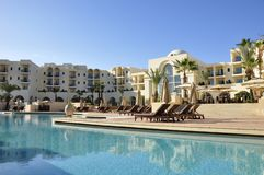 Luxushotelerie, Le Residence Tunis, hôtels 5-Stern principaux du Th photographie stock