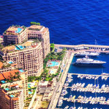 Luxusimmobilien in Monte Carlo Lizenzfreies Stockfoto