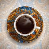 Luxuskaffeetasse Stockbilder