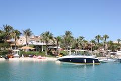 Luxuslandhäuser in Ägypten Stockbilder