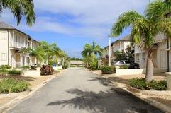 Luxuslandhauses an Mullins-Strand, Barbados lizenzfreies stockfoto