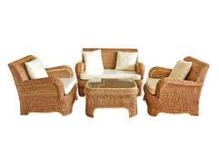 Luxusmöbel lokalisiert Stockbild