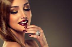 Luxusmodeart stockfoto