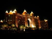 Luxusnächte bei Dubai Stockfoto