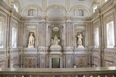 Luxuspalast Caserta Lizenzfreie Stockfotos