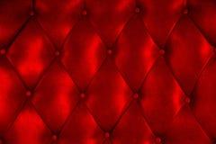 Luxuspolsterungslederknopf-Stuhlbeschaffenheit Stockbilder