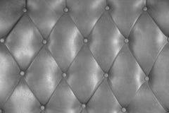 Luxuspolsterungslederknopf-Stuhlbeschaffenheit lizenzfreies stockbild