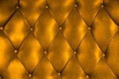 Luxuspolsterungslederknopf-Stuhlbeschaffenheit Stockfoto