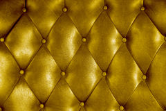Luxuspolsterungslederknopf-Stuhlbeschaffenheit lizenzfreie stockfotografie