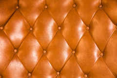 Luxuspolsterungslederknopf-Stuhlbeschaffenheit I lizenzfreie stockfotos
