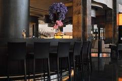 Luxusrestaurant Lizenzfreie Stockfotos