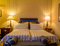 Luxusschlafzimmer Lizenzfreie Stockfotografie