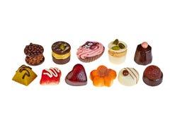 Luxusschokolade sortiert Lizenzfreies Stockbild