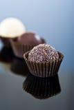 Luxusschokoladenpralinen Stockfotos