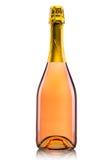 Luxussektflasche lizenzfreies stockfoto