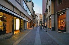 Luxusstraße Stockfoto