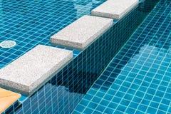 Luxusswimmingpool Stockfotos