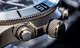 Luxusuhr-Detail Stockbild
