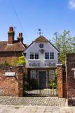 Luxusunterkunft bot durch Airbnb am 12. August 2016 in Chichester, Vereinigtes Königreich an stockfoto
