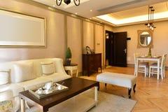 Luxuswohnzimmer Stockbild