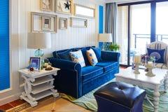 Luxuswohnzimmer Lizenzfreies Stockfoto
