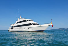 Luxusyacht Stockfoto