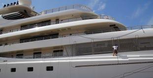 Luxusyacht Stockfotografie