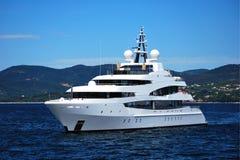 Luxusyacht Lizenzfreies Stockfoto