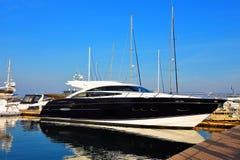 Luxusyacht stockfotos