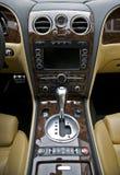 Luxuxauto-Innenraum Stockfoto