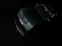 Luxuxauto nachts Lizenzfreie Stockfotografie