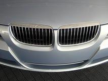 Luxuxautomobilgrill Lizenzfreies Stockbild