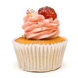 Luxuxcup-Kuchen stockfoto