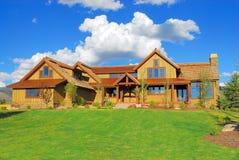 Luxuxferien-Haus Stockfoto