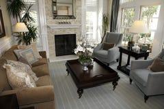 Luxuxhauptwohnzimmer. Lizenzfreie Stockbilder