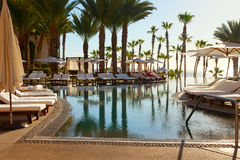 Luxuxrücksortierung in Cabo San Lucas, Mexiko Lizenzfreies Stockbild