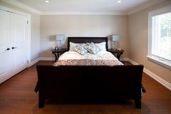 Luxuxschlafzimmer Lizenzfreies Stockfoto